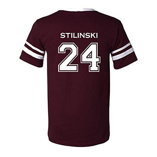 The Creating Studio Adult Stilinski 24 2-Sided Jersey X-Large Maroon