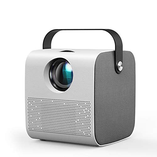 Tragbarer Projektor, 1280 * 720P / 2800 Lumen, LED-Proyector Für Full HD 1080P, 3D-Video-Beamer-Heimkino