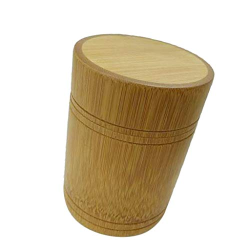 LOVIVER Tee Kaffee Zucker Bambus Tee Kaffee Bambus Kanister - B