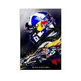 WODETA David Coulthard F1 Formel-1-Auto-Poster,