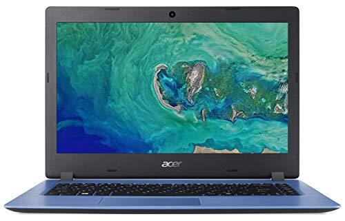 Acer Aspire 1 A114-32 Cloudbook - (Intel Celeron N4000 processor, 4GB RAM, 32GB eMMC, 14 inch HD display, Office 365 Personal, Windows 10, Blue)