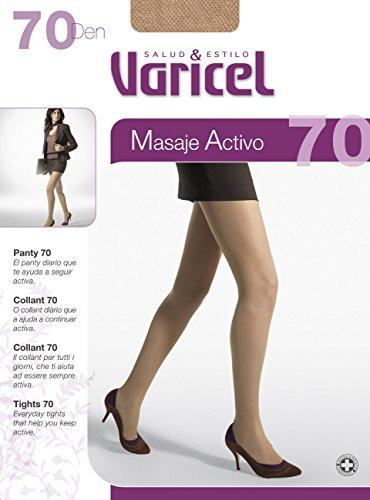 PANTY 70 compresión media (11/14 mmHg) proporciona un eficaz masaje que activa la circulación, descansa y relaja tus piernas. Alivia el cansancio, dolor o hinchazón de piernas. (FUME, XL)
