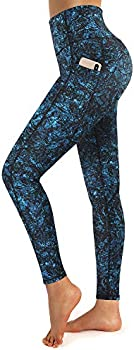 Promover Women's High Waist Leggings with Pockets (various sizes/colors)