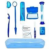 HRASY Portable Orthodontic Oral Care Kit for Braces - Interdental Brush Dental...