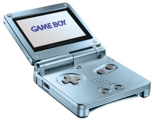 blue nintendo game boy advance - 9