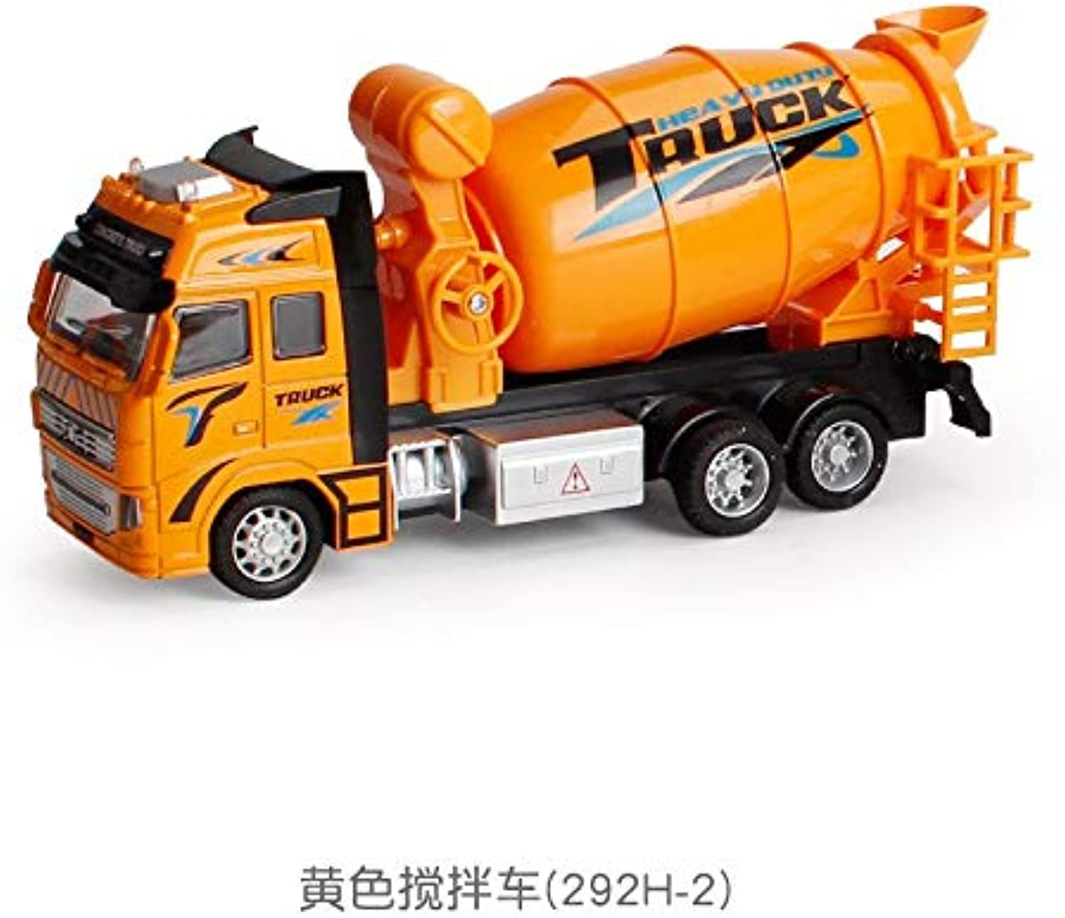 Generic 1 18 Toy Car Sliding Alloy Municipal Engineering Vehicle Model Fire Truck Car Model Excavator Garbage Truck Toy for Kids Gifts 2