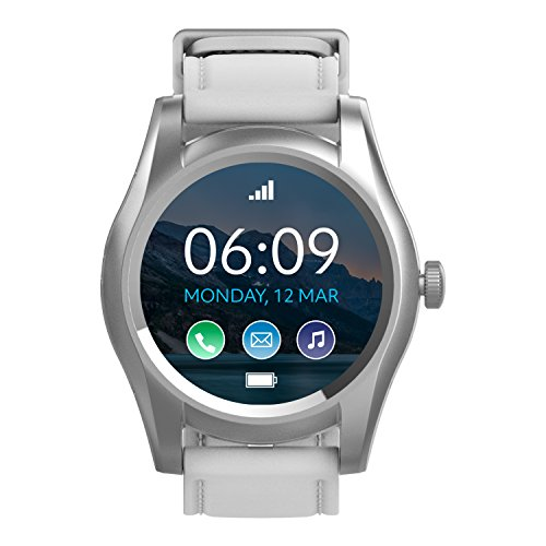 BLU X Link - Smartwatch Compatible with Android and iOS -Silver