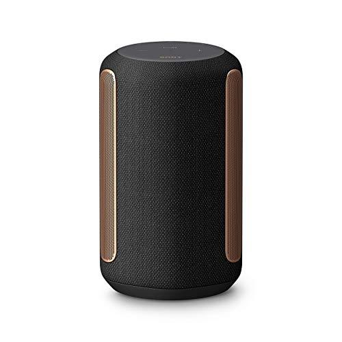 Sony SRS-RA3000 - Home Speaker Wireless con Immersive Audio Enhancement, 360 Reality Audio e Riproduzione Multi-room, Compatibile con Google Assistant e Amazon Alexa (Nero)