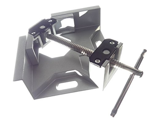 Tech Corner Clamp, Right Angle, 90 Degree, Adjustable Vise, Perfect for Woodworking, Cabinet Framing, Picture Frame, Aquarium, Workshop