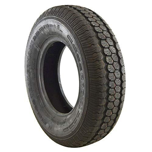 Neumático para remolque 145 R10 solo 74N sin cámara radial 375 kg máx. 4 capas TRSP35