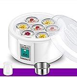 ExcLent 1.5L 220V Fabricante De Yogur Con 7 Frascos De Vidrio De Fermentación Máquina Automática De Yogurt Herramientas De Yogur Para El Hogar Diy Aparato De Cocina