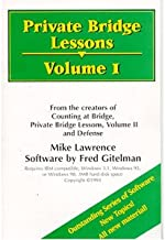 Private Bridge Lessons Volume 1 By Mike Lawrence and Fred Gitelman (Not Mac compatible)