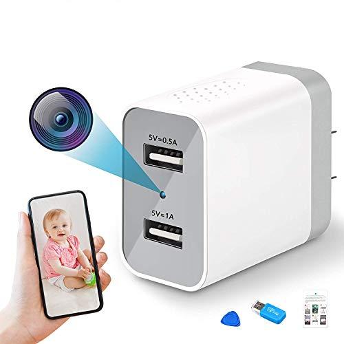Spy Camera Wireless Hidden, 2020 Upgraded Version WiFi Camera 1080P HD...