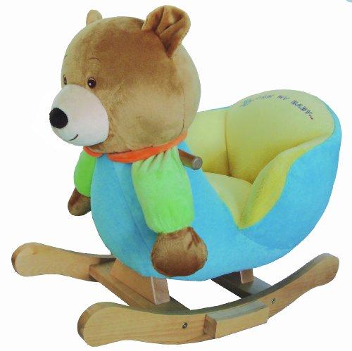knorr-baby 60005 - Schaukelspielzeug, Schaukelbär Ben Boy