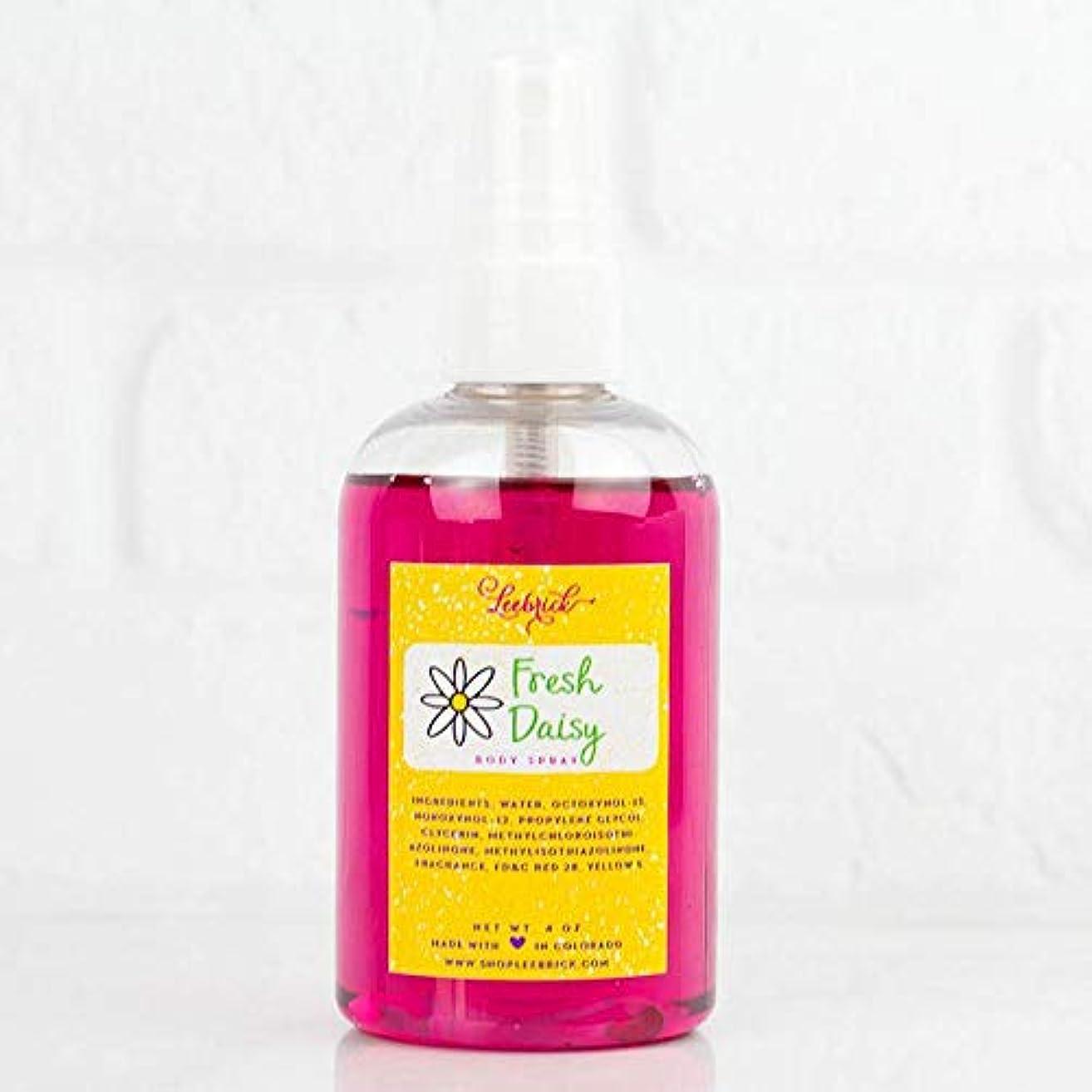 Fresh Daisy Floral Fragrance Moisturizing Body Spray Mist Oil - 4 oz