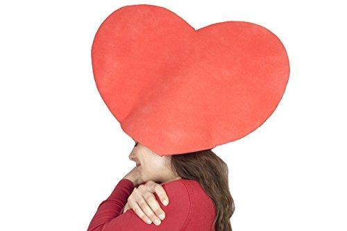 sombreros de gomaespuma corazón