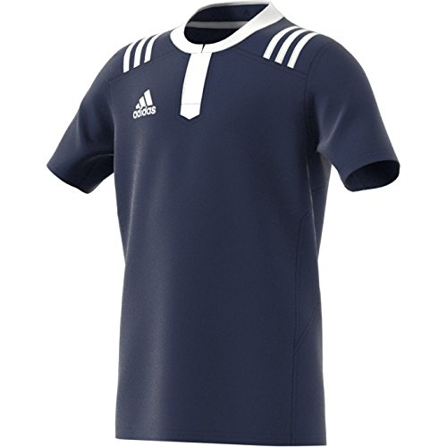 adidas Jungen T-Shirt TW 3S Jersey SS Y Rugby Trikot, Dkblue/White, 152