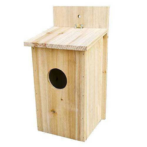 Haushalt International HI 49034 Nistkasten Nisthaus aus Holz 50mm Loch