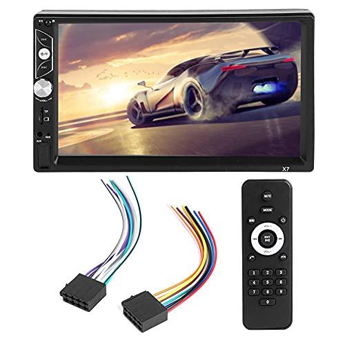 Coche MP5 Player, 7 pulgadas Coche Bluetooth MP5 HD Pantalla táctil capacitiva Radio estéreo Reproductor de música 12V para Android para iOS