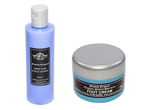 Original Crème pour les pieds 75 g et original Lotion pour le pied et la cheville par Elegance Natural Skin Care