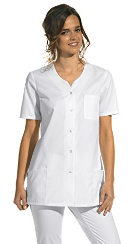 Hosenkasack für Damen weiß 1/2 Arm (36)