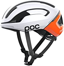 POC, Omne Air Spin Bike Helmet for Commuters and Road Cycling, Lightweight, Breathable and Adjustable, Zink Orange AVIP, Medium