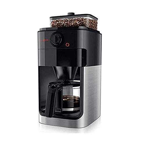 JYDQB 10-Cup Kaffeemaschine, Grind und Brew Kaffeevollautomat mit Built-In Burr Kaffeemühle