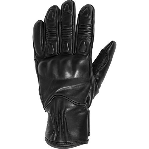 Spirit Motors Motorradhandschuhe kurz Motorrad Handschuh Klassik Lederhandschuh 3.0 schwarz 9,5, Herren, Chopper/Cruiser, Ganzjährig