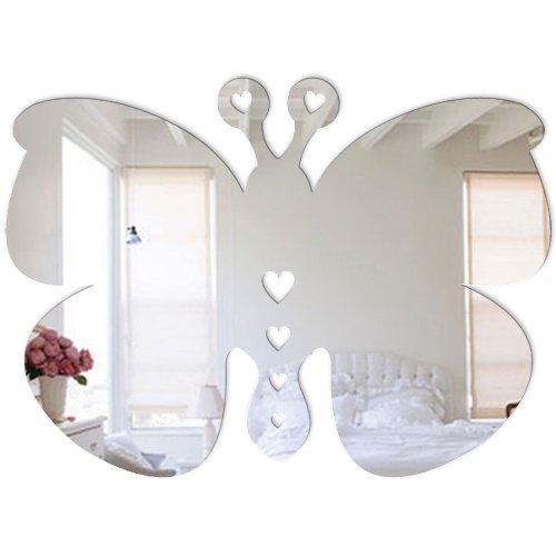 Mungai Mirrors Miroir en forme de bébé papillon