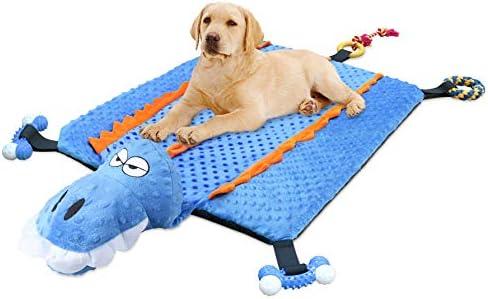Crocodile dog bed