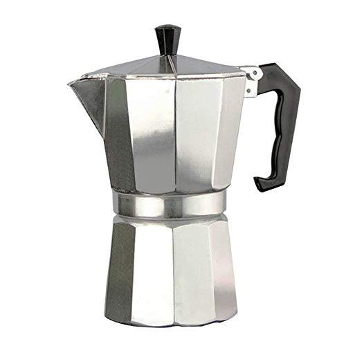 Best Deals! Aluminum Mocha Coffee Pot Stovetop Espresso Maker 2-12 Cups Coffee Maker Espresso Percol...