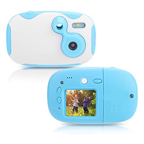 Digitale videocamera, 1,44 inch mini HD-camera voor kinderen met CMOS-sensor en microfoon, cadeaus voor kinderen (blauw)