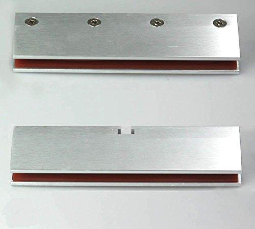 Helm Glasklemmleisten 1 Paar Glasklemmen für Glasstärke 8mm Glastüren bis 120kg