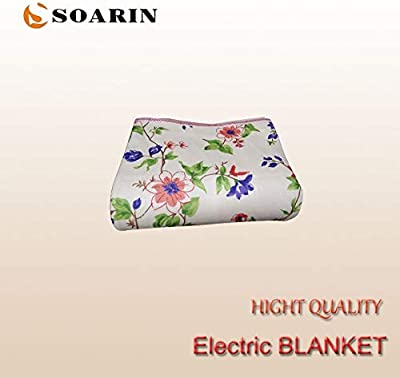Viet-NA Electric Blankets - Electric Blanket 150x70cm Electric Heating Blanket Single Synthetic Fiber Mattress