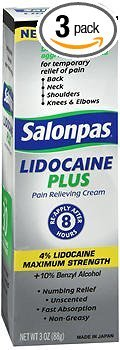 Salonpas Lidocaine Plus Pain Reliev…