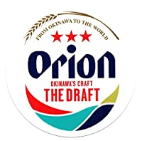 オリオンビール グッズ ドラフト缶 ロゴ入り ステッカー