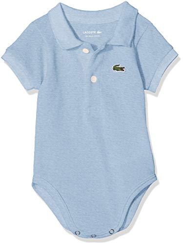 Lacoste 4J6963 Body, Azul (Nuage Chine), 0-12 Meses (Talla del Fabricante: 12M) para Bebés