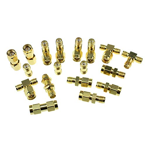 HONG YI-HAT 18pcs 1.2G 5.8G FPV Telemetrie Antenne Adapter SMA RP-SMA gain antenne Connector for RC FPV Racing Drone Models Spare Parts Drone vervangingsonderdelen