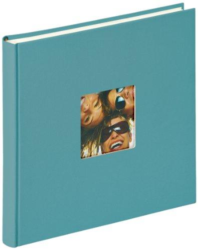 Walther Design FA-205-K álbum de Fotos Fun, 26 x 25 cm, 40 páginas Blancas, Verde, con el Corte per un Foto
