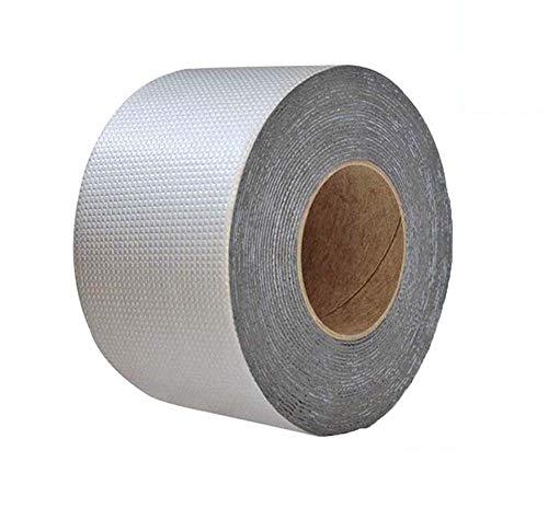 Powerful Magical Repair Tape - Mend Any Leak and Crack,Super Waterproof Tape Butyl Rubber Aluminium Foil Tape (10cm×10m)