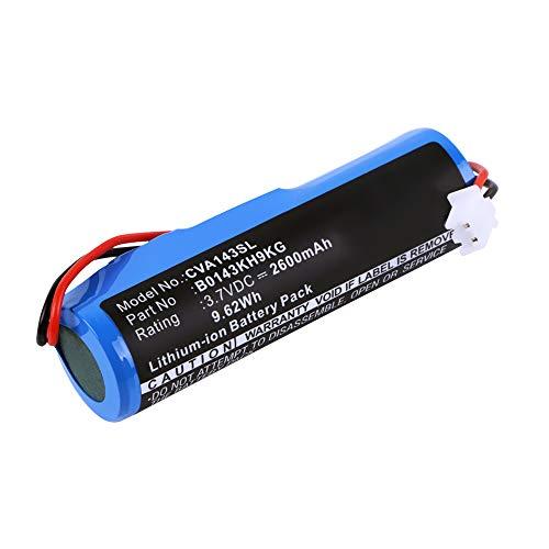 subtel® Batería Premium Compatible con Croove Voice Amplifier - B0143KH9KG (2600mAh) bateria Repuesto Pila
