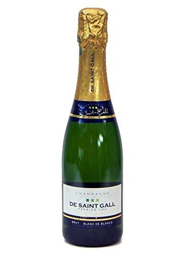De Saint Gall Champagner Premier Cru Brut Blanc de Blanc 12% 0,375l Flasche