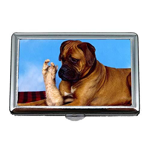 14 Zigaretten Box Aufbewahrungskoffer, Hunde Spielen Hund b q, Business Name Kartenhalter