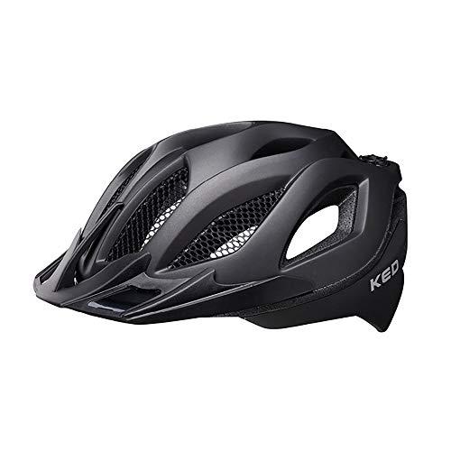 KED Spiri Two Helm Black Matte Kopfumfang M | 52-58cm 2021 Fahrradhelm