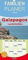 Galapagos- Landschaften - Familienplaner hoch (Wandkalender 2022 , 21 cm x 45 cm, hoch): Die schoensten Landschaften der Galapagosinseln (Monatskalender, 14 Seiten )