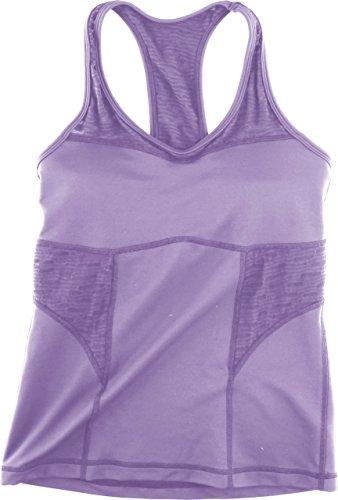 Camiseta sin Mangas para Mujer Cascade Tops para Mujer Morado Morado Talla:Medium