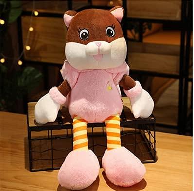 KXCAQ 60 cm-90 cm Lindo Gato de la Suerte Juguete de Felpa Gatos de Peluche muñeca Fitty con Sombreros de Conejo niño niña niño Regalo de cumpleaños 60 cm Rosa
