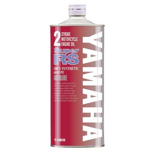 ヤマハ(YAMAHA) 2サイクル用エンジンオイル オートルーブ スーパーRS 1L 90793-30125