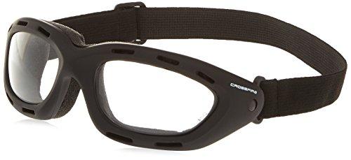 Crossfire 91351AF Element Safety Goggles Clear Anti-fog Lens - Frame