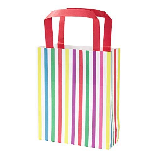 Talking Tables Mix Mehrfarben Papier Party Taschen 8Pk, Pappe, 2.5 x 16.5 x 25 cm